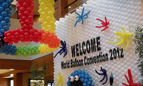Balloon decorations creative event organizers chennai for Balloon decoration in chennai
